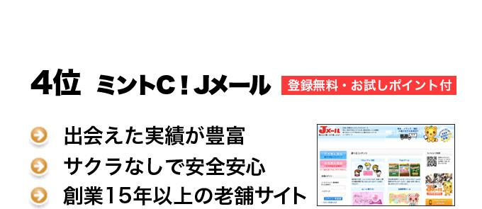 ミントC!Jメール登録