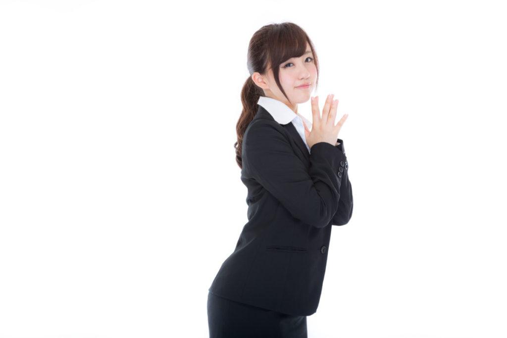 新卒の会社員女性