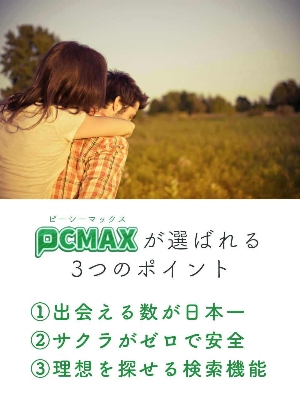PCMAXの特徴